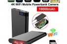 IP Camera Powerbank 4K Wifi Camera H11