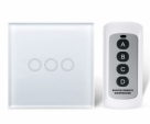 Remote Control Switch 1gang 2gang 3Gang 1 Way, Smart Wall Switch,Wireless Remote RF Touch Light Switch