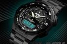 Skmei-1370-Men-Digital-Stainless-Steel-5ATM-Waterproof-Wrist-Watches--Original-