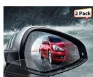 2 PCS YASOKRO Car Rearview Mirror Anti-Fog Membrane Waterproof Rainproof Car Mirror Window Protective Film