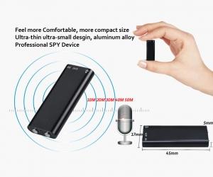 Voice-Recorder-Super-Mini-Powerful-Small-Dictaphone-MP3-8GB