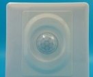 Pir motion sensor three-wire fire line suppy high quality switch 86mm white 25D