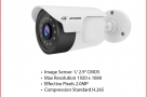 Jovision JVS-N815-YWC-R2 H.265 2MP Plastic Outdoor Camera