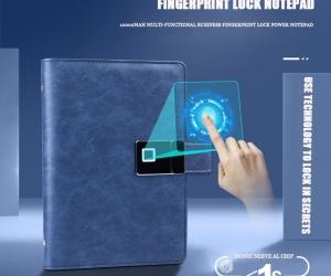 Unique-Collection-Smart-Fingerprint-Diary-with-Pen-16gb-Flash-Drive