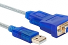 DTECH USB 2.0 to RS232 DB9 Female Serial Adapter Cable