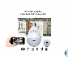 Camera LED Light Bulb Night Vision Wireless HD IP Camera