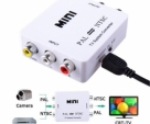 PAL to NTSC Bi-directional TV Format System Converter - White
