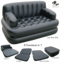 5 in 1 Inflatable Double Air Sofa Chair