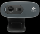 Logitech C270 HD Webcam 3MP 720p Built-in Microphone USB
