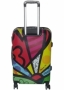 COLORLOVERS ROLLING SPINNER WHEELS SCRAWL TROLLEY SUITCASE LUGGAGE (24?)