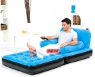 2 in 1 SINGLE INFLATABLE AIR SOFA+BED