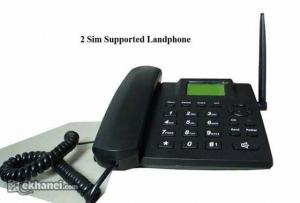 2-SIM-GSM-LAND-PHONE-intact-Box