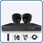 2pcs CCTV Camera package Lowest Price in BD