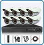 8pcs CCTV Camera package (Full Night vision)