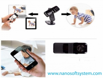 Phone-remote-monitoring-WIFI-mini-DV-camera