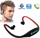 Wireless Bluetooth Mp3 Player Headset With Mic-C: 0089!