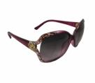 UV protection mehrun color Ladies Sunglass. (QHH42159)