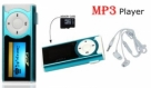 MP3 Music Player With LCD Display & LED Torch-C: 0173!
