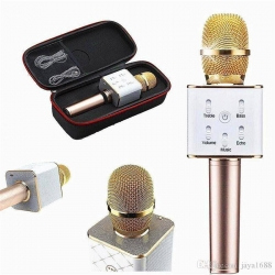 New-Version-Q9-Bluetooth-Microphone-Speaker-intact-Box