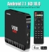 Scishion V88 Piano 4GB+16GB Android 7.1, Quad-Core TV Box, 4K 3D   Media player, Wi-Fi, Google Play