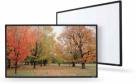 106'' 16:9 Fixed Frame Projection Screen With Grey High Contrast