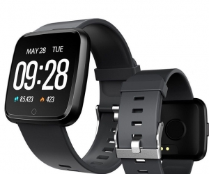 Y7-Smartwatch-Waterproof-Blood-Pressure-Pedometer-Silicon-Metal-Belt-Fitness-Tracker