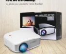 C6 3D HD LED Portable Mini TV Multimedia Projector