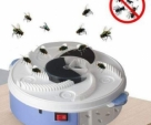 Electric-Fly-Trap-Pest-Insect-Catcher-Device-Automatic-Flycatcher-Fly-Trap-White