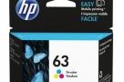 New HP 63 Tri-color Original Ink Cartridge