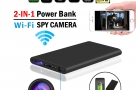 IP Camera Powerbank H8 4K Wifi Camera