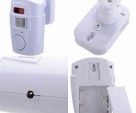 Motion sensor Alarm with Remote control