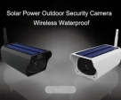 HD 1080P Solar Camera Wireless Outdoor 2MP Wifi Bullet IP Camera Waterproof Surveillance Home Security CCTV Camera Solar Powered