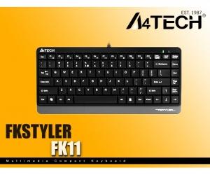 A4tech-FK11-USB-Mini-Keyboard-With-Bangla-Black