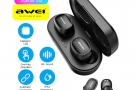 Awei T13 Ture Wireless Sports Headset TWS with Charging Case