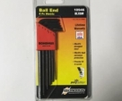 Bondhus Blx6m 6 Piece Long Ball End Hex Allen Key Set 10946-Black
