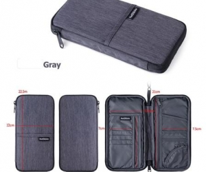 Naturehike-multifunctional-open-bag-for-cash-passport-card-Using-Multi-Travel-Wallet-NH17C001