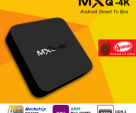 MXQ 4K Android Smart TV Box Android TV Box 4K TV Box