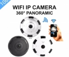 360° Panoramic Wifi Camera