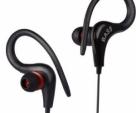 Bluetooth Wireless Earbud Headphone Hook Earphone Earpiece For Sports Running-Black