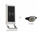 Waterproof Office Electronic Private Drawer RFID Card Locker Lock Digital Keyless Card Cabinet Lock-Black