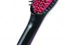 Hair Straightener Brush - Black And Pink