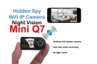 IP Camera Night Vision Mini Q7 P2P Wifi Camera