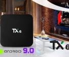 Android Tv Box 4GB 1200+Live HD Channel Free Smart Tv Box TX6