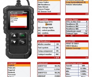LAUNCH-CReader-3001-OBD2-Scanner