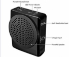 Portable Voice Amplifier Speaker Megaphone KU-899 -Black