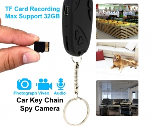 Mini-Camera-Car-Key-Ring-32GB-Video-with-Voice-Recorder