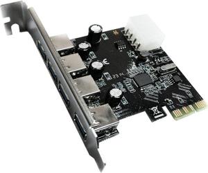 4-Port-USB-30-HUB-to-PCI-e-PCI-Express-Card