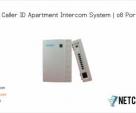 08 Port Apartment Intercom System