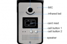 Color Monitor Video Door Phone Smart Visitor Device