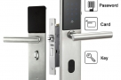 Electronic Digital Smart Password Door Lock Keypad Touch Screen & 5 RFID Cards